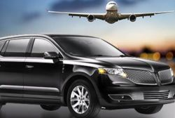 New City Limo And Ride Service. Limousine with Plane