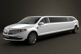 New City Limo And Ride Service. Limousine with a Lady